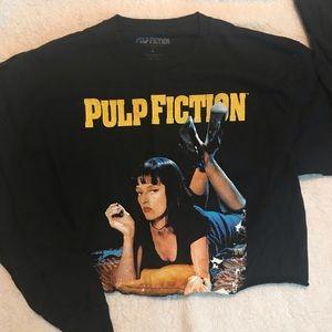 Pulp Fiction Uma Thurman Long Sleeve